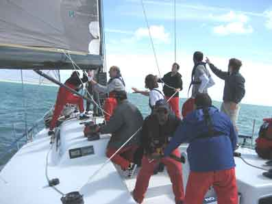 Team building sailing